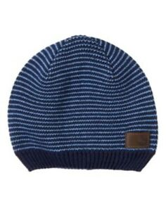 GYMBOREE SUNNY SPORTS BLUE STRIPE SWEATER BEANIE HAT 12 24 4T 5T NWT