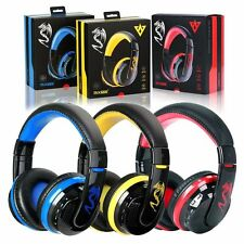 AU Bluetooth 4.0 Headset Wireless Stereo Super Bass Music Game Headphone Mic