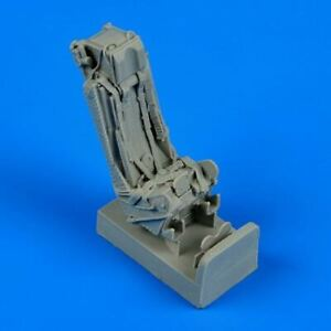 QUICKBOOST 1/48 HAWKER HUNTER EJECTION SEAT W/SAFETY BELTS 48550