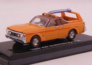Road Ragers 1969 Ford Falcon XW Surferoo Ute Utility Surfer Orange Diecast 1:64