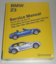 Werkstatthandbuch Reparaturanleitung BMW Z3 Roadster, Coupe + M 1996-2002