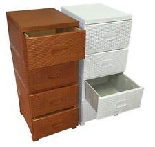 Avec 4 étagères Bibliothèques, étagères et rangements tiroirs pour la maison