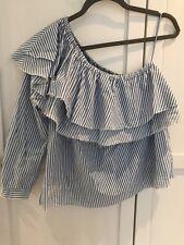 Zara One Shoulder Top Size S