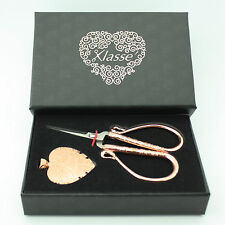 Rose Gold Embroidery Gift Set-Embroidery Scissors & Pendant thread cutter