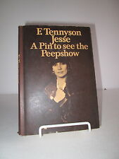 1973 A Pin to See the Peepshow by F Tennyson Jesse HB DJ Reprint for BBC Show