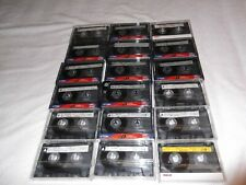 50 Used cassette tapes  (Folk, Bluegrass, and Country Music, recorded on them)