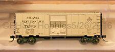 N Scale - ATLAS 50 001 761 ATLANTA & WEST POINT 40' PS-1 Box Car # 38020