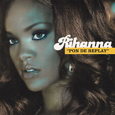 CD CARDSLEEVE CARTONNE RIHANNA PON DE REPLAY 2T DE 2005 NEUF !!!!