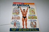 OCT 1963 MR AMERICA body building magazine