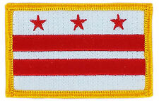 FLAG PATCH PATCHES Washington DC  IRON ON EMBROIDERED UNITED STATES USA STATE