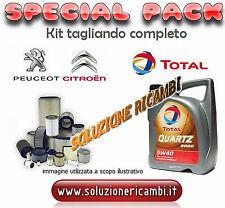 KIT TAGLIANDO FILTRI + OLIO Peugeot 207 1.6 HDi dal 04/2006