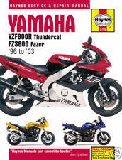 Yamaha YZF600 Thundercat & FZS600 Fazer 1996-2003 Haynes Handbuch 3702