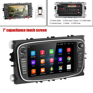 """7"""" Car 2 Din Android 10.0 GPS 1GB+16GB Stereo Navigation MP5 Player WiFi TF/USB"""
