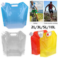 10L Outdoor Camping Collapsible Foldable Drinking Water Bag Carrier Container