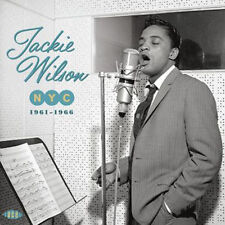 """JACKIE WILSON  """"NYC 1961-1966 - THE 60's NEW YORK SESSIONS""""  2 CD 48 TRACKS"""