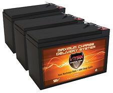 3 VMAX63 12V 10AH AGM SLA FRESH Battery REPLACES 7Ah UB1270, 8Ah UB1280, UB1290