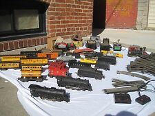 Vintage Lionel Trains  2 Locomotives 11 cars transformers and more
