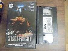 """USED  VHS Movie  """"Stage Fright""""   """"G"""""""