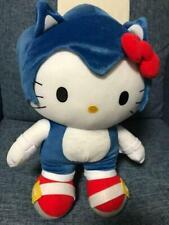 Sanrio Hello Kitty Sega Sonic Plush Doll Collaboration Stuffed Toy Japan F/S