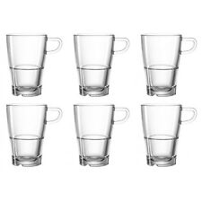 LEONARDO 024014 Senso Latte Macchiato Tasse / Becher 230ml, stapelbar, Glas, kla