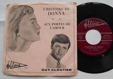 GUY CLOUTIER L'histoire de Donna (RITCHIE VALENS) NM- CANADA 1965 P/S QUEBEC 45