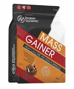 Protein Dynamix 2kg Complete Mass Gainer High Calorie Lean Weight Gain Formula