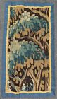 Antique rug/carpet/textile/tapestry European French Aubusson 17th century