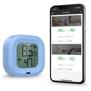 35M Bluetooth Indoor Room Digital Thermometer @ Hygrometer Temperature Humidity