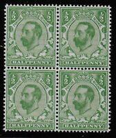 SG321.  1/2d.Pale Green (Die A). Fresh Unmounted Block Of 4.  Cat.£40.  Ref.0830