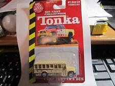 Tonka DIECAST/PLASTIC 1999 #18/50 Camp Tonkawa Bus
