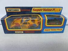 1992 Matchbox Super Kings Super Value Pack IMSA Mustang