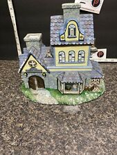 PartyLite Olde World Village #1 Candle Shoppe Tealight House : (See Description)