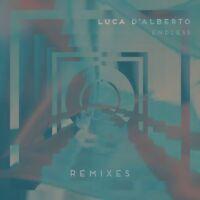 LUCA D'ALBERTO - HER DREAMS/SCREAMING SILENCE   VINYL LP SINGLE NEW+