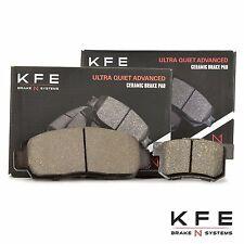 Premium Ceramic Disc Brake Pad FRONT + REAR New Set With Shims KFE787 KFE536
