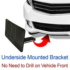 LICENSE PLATE BRACKET Tag Holder Mount Hidden Mounting Holes sHo-X-chev-stO-n