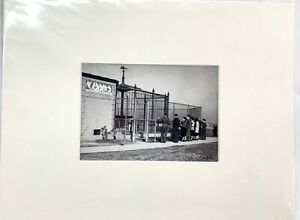"LSU Tiger ""Mike's Cage""-Late 1930's 5 x 7 Photo by Theodore Fonville Winans"