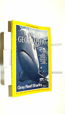 National Geographic Magazine January 1995; sharks; The Nile; New Orleans; Arctic