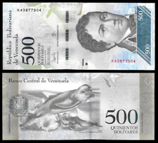 New ListingWorld Paper Money - Venezuela 500 Bolivares Fuerte 2017 Series K8 @ Crisp Unc