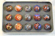 "Dave's Appalachian Swirls ""Dynamite Special"" Box of Marbles"
