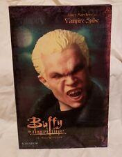 """Sideshow Buffy The Vampire Slayer Vampire Spike 12"""" Figure Btvs.New In Box!"""