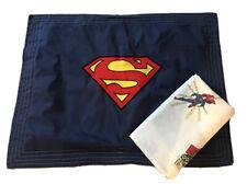 Pottery Barn Kids Superman Sham And Twin Flat Sheet