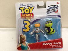 Mattel toy story 3 buddy pack-astronaute barbie/le bookworn non ouvert!