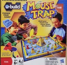 U-Build Mouse Trap Board Game 100% Counted Complete Hasbro 2010 Used