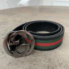 100% Authentic Signature Gucci Belt