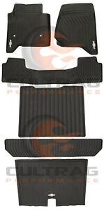 2015-2020 Chevrolet Suburban Premium All Weather Floor Mat Package Black