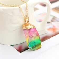 Fashion Jewelry Accessories Bohemiad Crystal Choker Necklace Simple Chokers T HL Gold