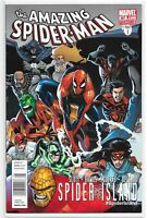 Amazing Spiderman 667 Spider Island NEWSSTAND VARIANT Scarce NM Marvel Slott