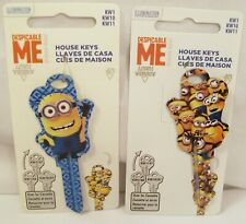 NEW DESPICABLE ME MINION MADE BLANK KW1 / 66 HOUSE KEY! FREE NEXT DAY SHIPPING!!