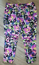 Serena Williams Signature Statement Jogger Pants Athletic Stretchy Colorful 2X