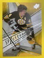 2008-09 Upper Deck SPX Hockey SPXcitement #X6 Bobby Orr 913/999 Boston Bruins